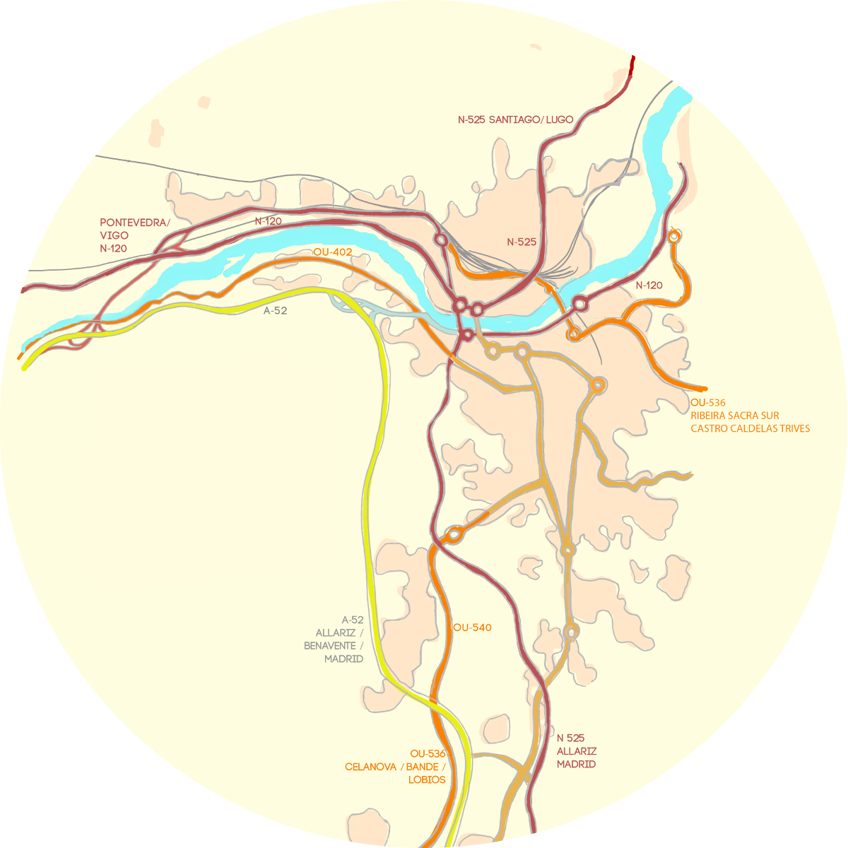 mapa accesosweb