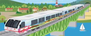 tren turístico galicia